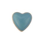 Heart Blue - Enamel Charm
